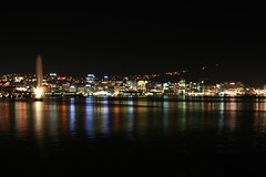 Wellington City night shot