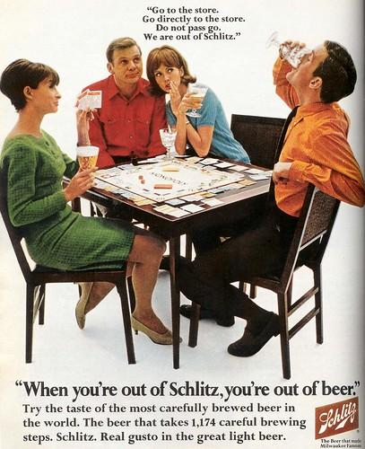 Shlitz  Monopoly1968