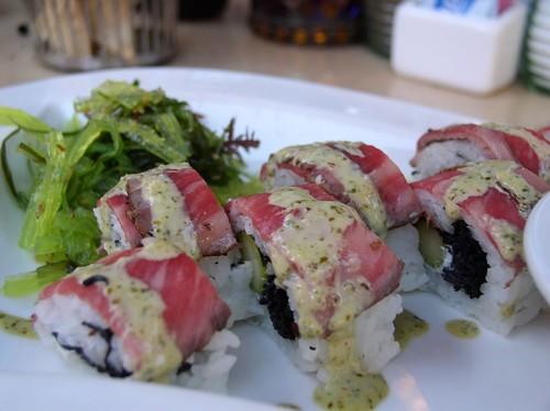 Kobe Beef Sushi Roll