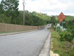 Carretera en Orocovis