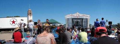 SF Mime Troupe panorama