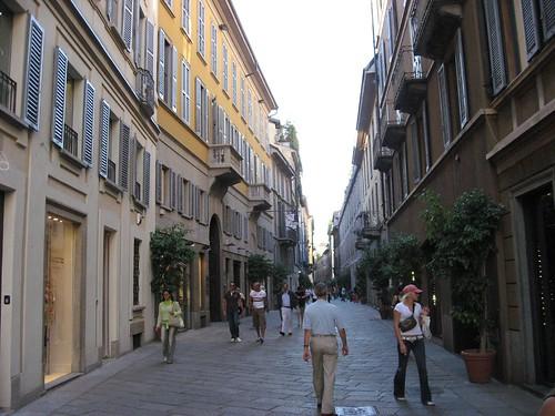 Della Spiga, MIlan Italy