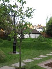 Edible garden at The Herne