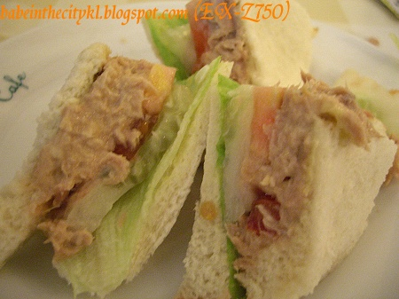 tuna sandwich (set)