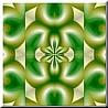 green gold flowering