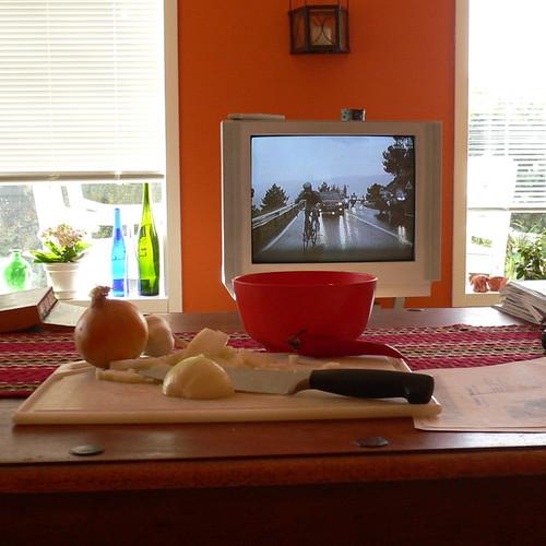fjernsyn m. multitasking