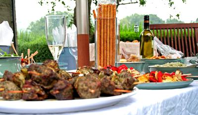 food garden party