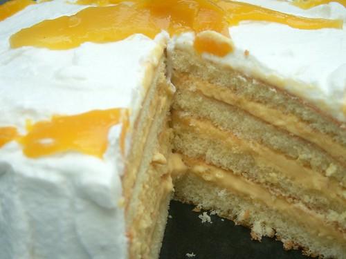 mango mousse cake, ala