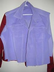 jacket half done