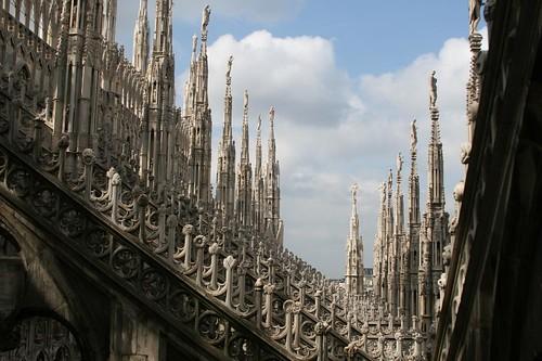 Exterior Details, Milan's Duomo