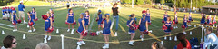 Vestavia Little Rebels Cheerleading on Sideline