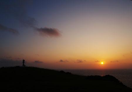 与那国島の日の出