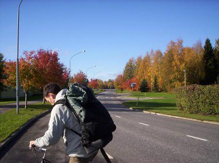 Temperatura de Finlandia en Otoño.