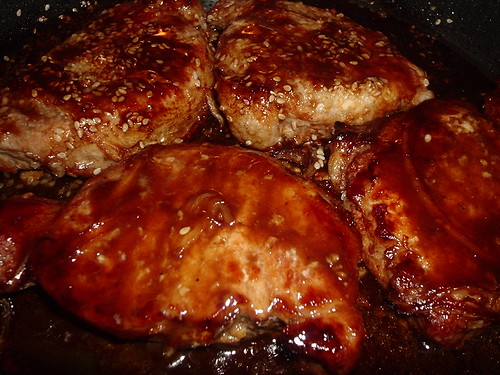 Honey-Hoisin Pork Chops