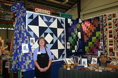 Kari and Her Quilts