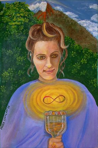 The High Priestess by Diana