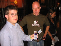 Rafe Blandford and the Nokia N95
