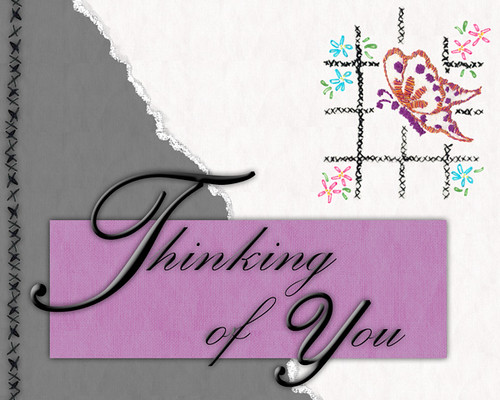 Thinking of You - Digi Card
