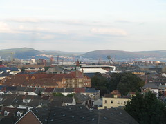 The rooftops of downtown Swansea – just feel that pulse.