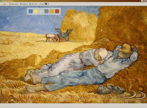 color shemer, the return of Van Gogh, 09/06