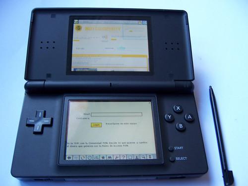 FON en la Nintendo DS Lite