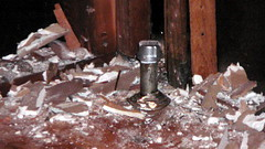 capped radiator pipe