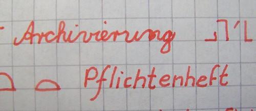 Philip's handwriting