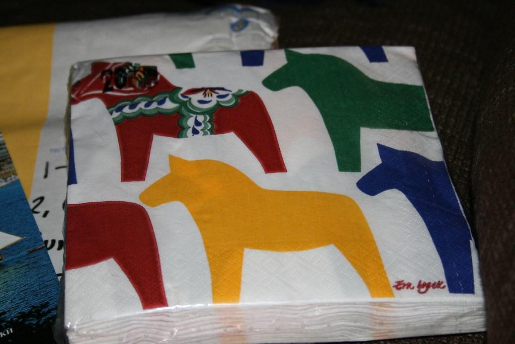 Dala Horse Serviettes
