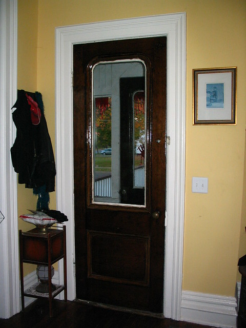 "Grandeur ""Georgetown"" Entry Door Set With Grande Victorian Knobs"