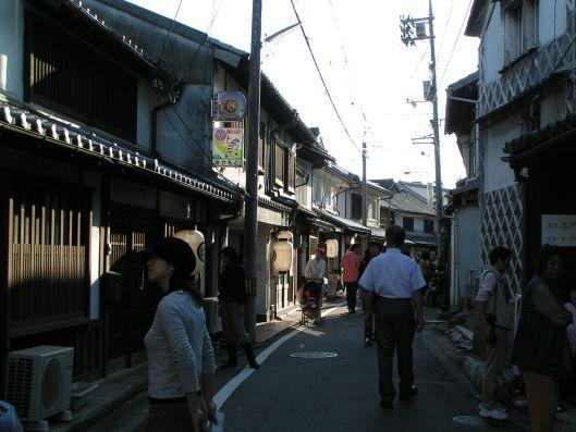 une rue du quartier historique de Kurashiki
