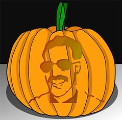 Borat Pumpkin!