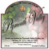 Plymouth Valley Winery Label