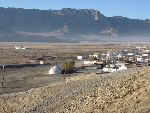 Murghab, Tajikistan / タジキスタン、ムルガブ町