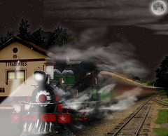 night train photo by Gravityx9