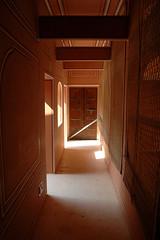 Haveli hall  - at the Anokhi Blockprint Museum, Ajmer