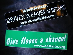 SAFF Bumper Stickers