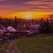 Sunset - Winterborne Stickland - Dorset