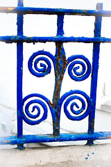 Seaside ironwork photo by judy dean