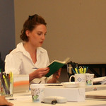 DOUBT - First Rehearsal - actor Eliza Stoughton