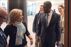 Exchange of views with Denis Mukwege, Sakharov Prize Laureate 2014