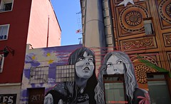 Arte en la calle . Street Art photo by Caty V. mazarias antoranz