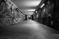 The underground (B & W) photo by Andrea Cerbai