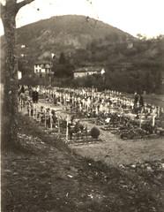 1945 - Cimetière de l'Escarène - col. Emile Bausseron