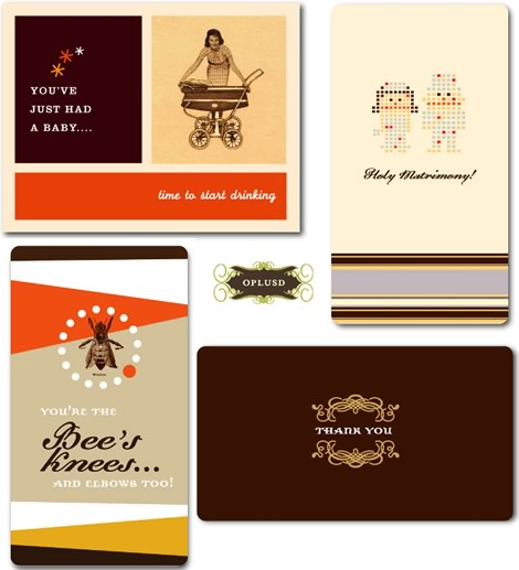 OPlusD Greeting Cards