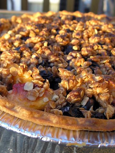 Blueberry-Peach Pie
