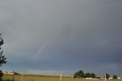 Left side of rainbow