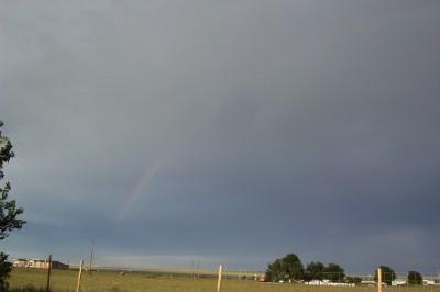 Left side of rainbow