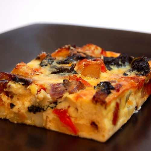 Roasted Vegetable Frittata | Cook (almost) Anything at Least Once