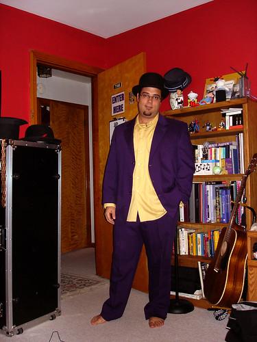 Purple Suit