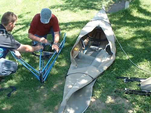 Kayaking the Lakes of South Dakota: Folding Kayak - The Folbot